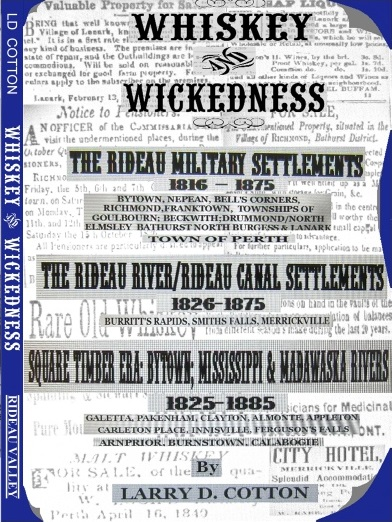 W and W Rideau Military Settlement Front Cover