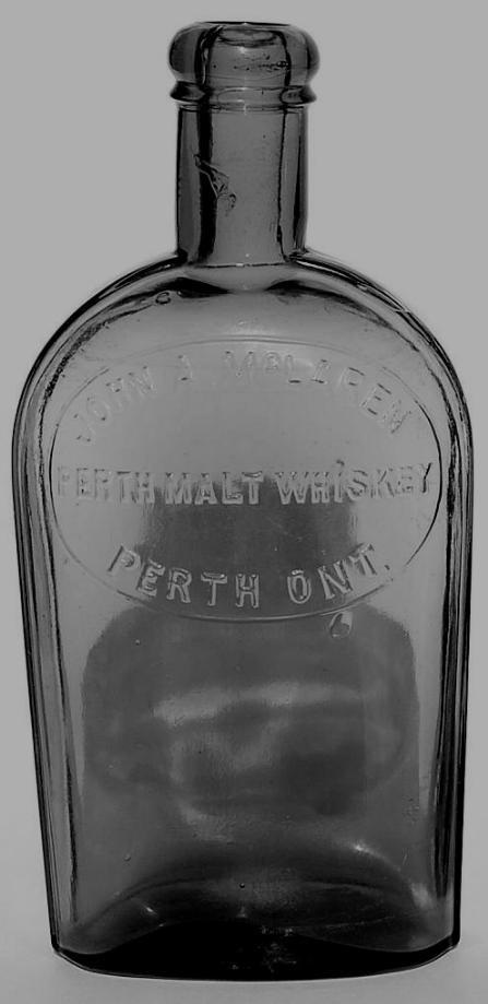 John McLaren Whiskey Bottle