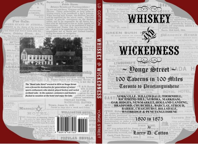 Whiskey & Wickedness Yonge Stree 100 Taverns in 100 Miles